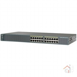 Коммутатор Cisco Catalyst (WS-C2960-24-S) 2960 24 10|100  LAN Lite Image