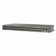 Коммутатор Cisco Catalyst (WS-C2960-48PST-L-M) 2960 48 10|100 PoE + 2 SFP + 2 1000BT LB 3-pack