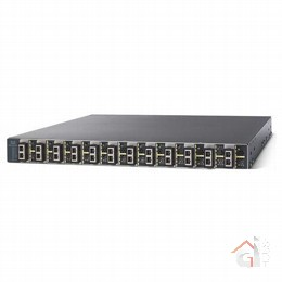 Коммутатор WS-C3560E-12D-S Catalyst 3560E 12 Ten GE (X2) ports, IPB software