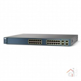 Коммутатор WS-C3560G-24PS-E Catalyst 3560 24 10/100/1000T PoE + 4 SFP + IPS Image