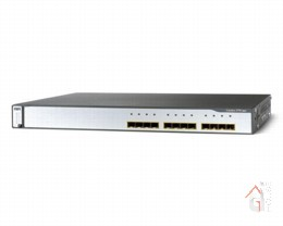 Коммутатор WS-C3750G-12S-SD Catalyst 3750 12 SFP DC powered + IPB Image
