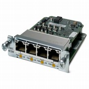 Модуль HWIC-4ESW= 4pt 10/100 Ethernet switch interface card